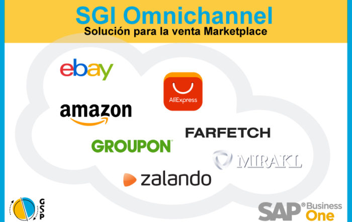 SGI Omnichannel. Solución SAP Business One para Marketplace