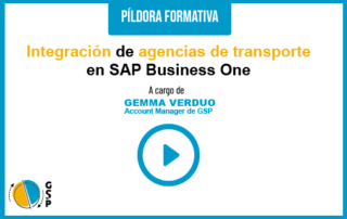 Integración de agencias de transporte en SAP Business One